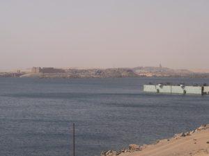Temple au bord du Lac Nasser