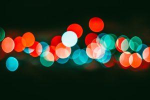 Les lumières dansent