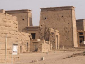 Le temple de Philae en Egypte