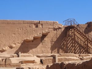 Terrasse de Denderah