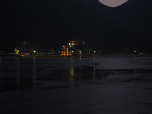 Miyajima de nuit