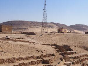Désert à Abydos