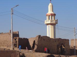 Un minaret à Abydos