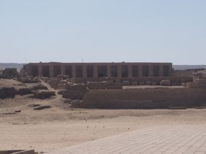 Temple d'Abydos en Egypte