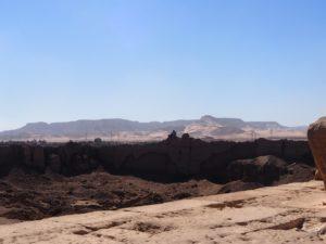 Vue du temple de Denderah