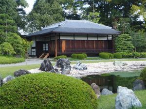 Les jardins du château Nijo à Kyoto