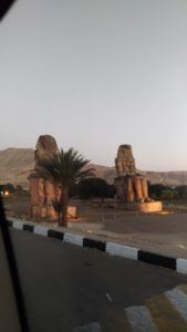 Les colosses de Mémnon