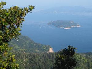 Vue du sommet du mont Misen