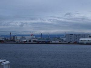 Le port d'Osaka
