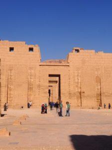 Temple de Ramsès III à Thèbes