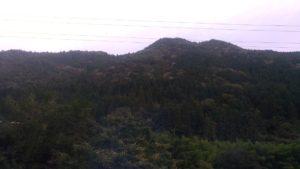 Vues sur les Alpes japonaises par la fenêtre du Limited Express