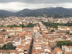 Florence vue du sommet du duomo