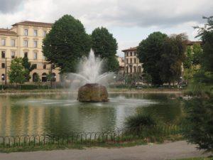 Le parc de la forteresse de Florence