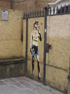 David en mode Street Art