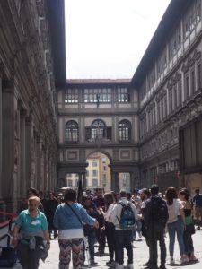 La Galleria dei Uffizi