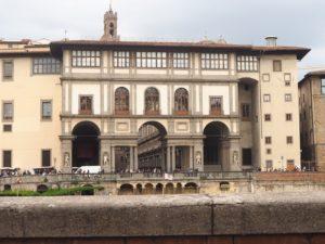 La galleria dei Uffizi à Florence