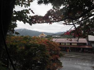 Hida sous la pluie