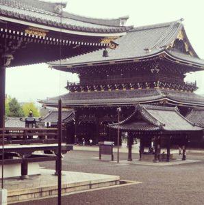 Temple Higashi Honganji à Kyoto