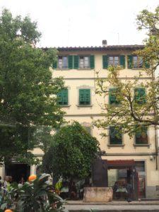 La place du marché de Florence
