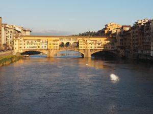 Ponte Vecchio au couchant