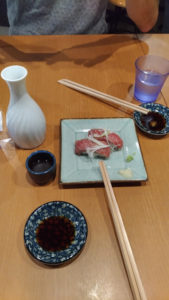 Sushi boeuf