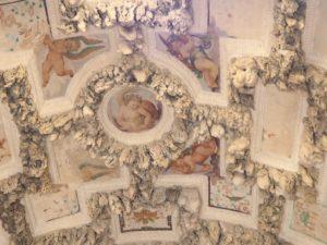 Plafonds de la grotte Medicis du jardin Boboli