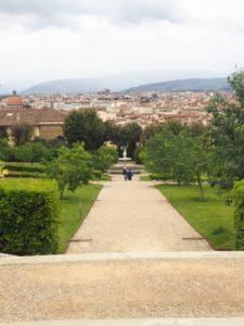 Vue du jardin de Boboli