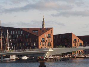 Copenhague, arrivée par la mer