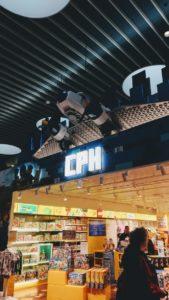La boutique Lego à l'aéroport de Copenhague