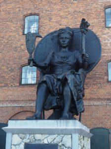 Statue à Copenhague