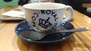Café danois à Tokyo