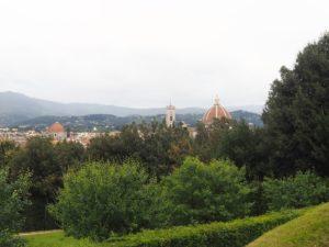 Le duomo vu du jardin de Boboli