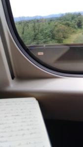 Ecrire dans le shinkansen
