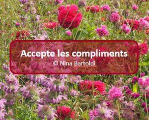 Accepte les compliments
