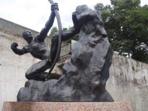 Herakles de Bourdelle dans le parc Ueno à Tokyo