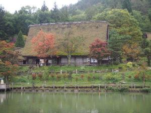 Hida, village folklorique, Japon