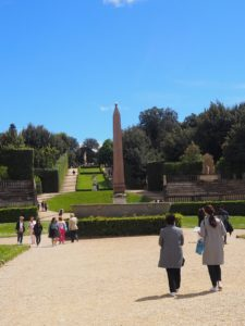 Le jardin Boboli à Florence