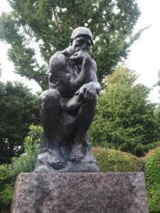 Le penseur de Rodin dans le parc Ueno à Tokyo