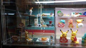 Diorama japonais dans un magasin de jouets