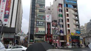 Magasin de jouet dans le quartier Ueno de Tokyo
