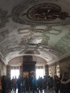 La gestion de la foule dans le château de Rosenborg