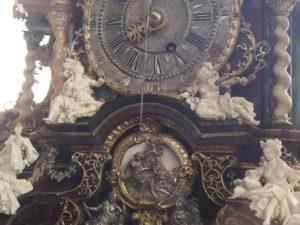 Château de Rosenborg : horloge