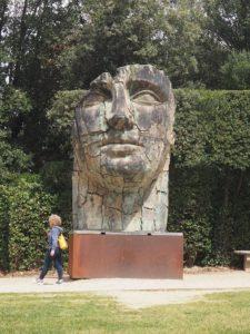 Sculpture dans le jardin Boboli