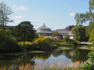 La serre du jardin botanique de Copenhague