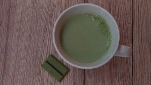 Kit Kat matcha et thé matcha