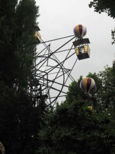 Grande roue au parc Tivoli
