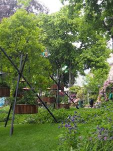 Détails du jardin Tivoli