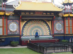 La scène asiatique du parc Tivoli