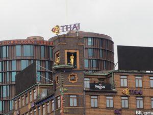 Baromètre thai à Copenhague