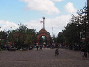 Entrée du parc Tivoli à Copenhague